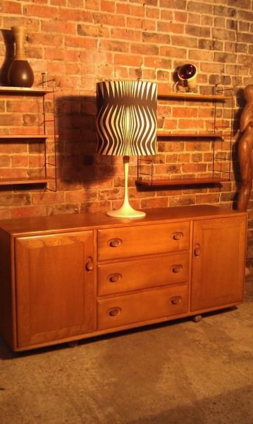 **sold**Ercol Windsor Elm Sideboard
