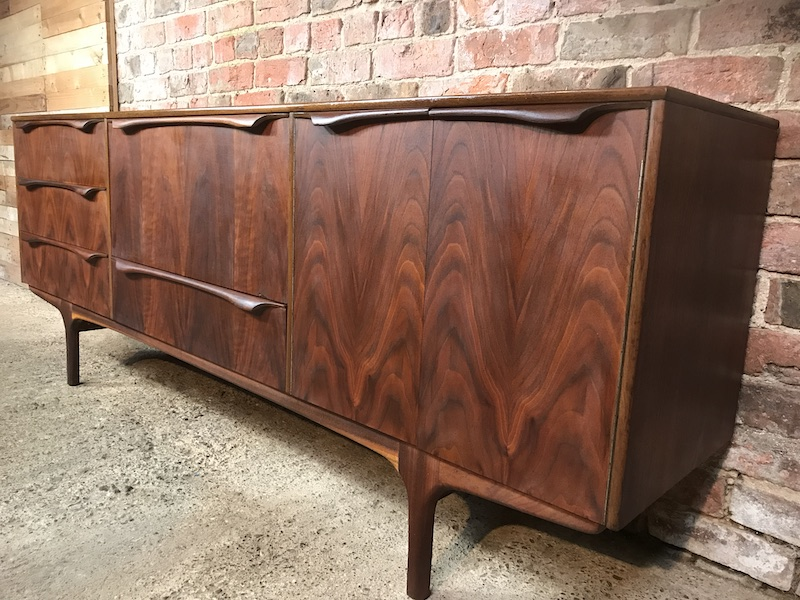 Stunning sought after Sutcliffe Black Walnut 1950's Retro Vintage Sideboard (196)