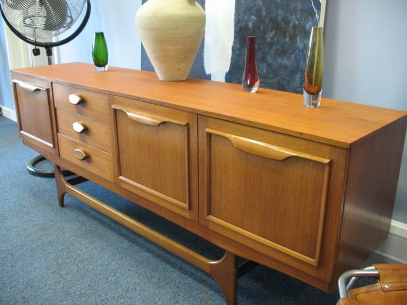 Large  organic Danish Sideboard