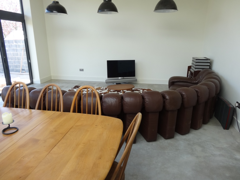 Vintage De Sede DS 600 sofa of 18 sections (price on request)