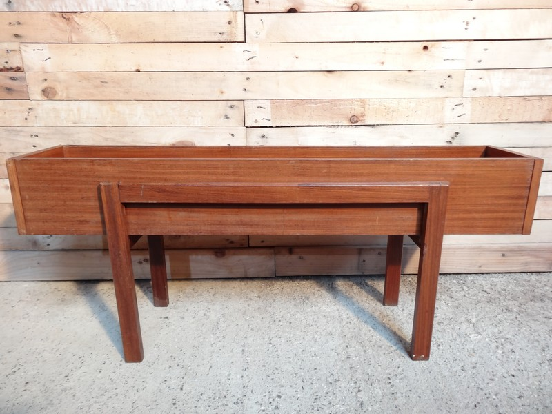 **SOLD**1960 teak plant stand