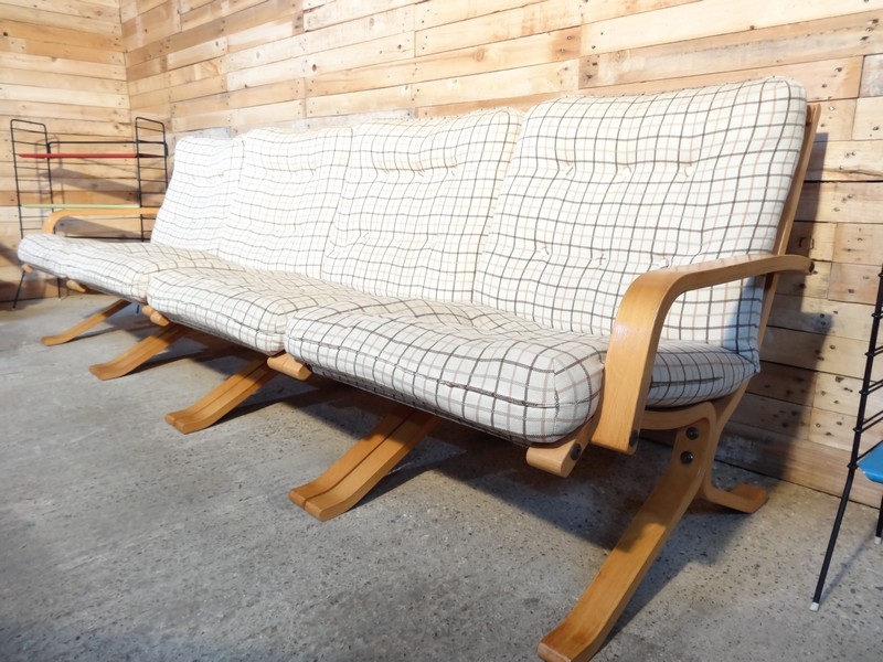 Sought after 1970's Danish Ingmar Relling four seater sofa (price on request)