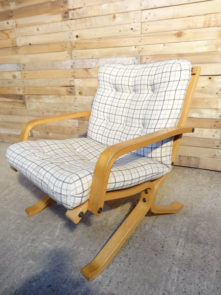 Sought after 1970's Danish Ingmar Relling Chair (same design as four seater sofa) (price on request)