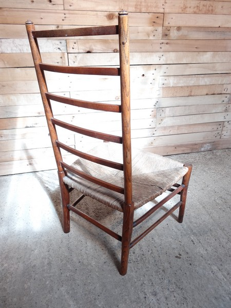 SOLD - ca 1900 English Edwardian bedroom chair (price on request)