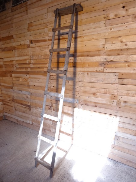 1900's French vintage Roof ladder (E)