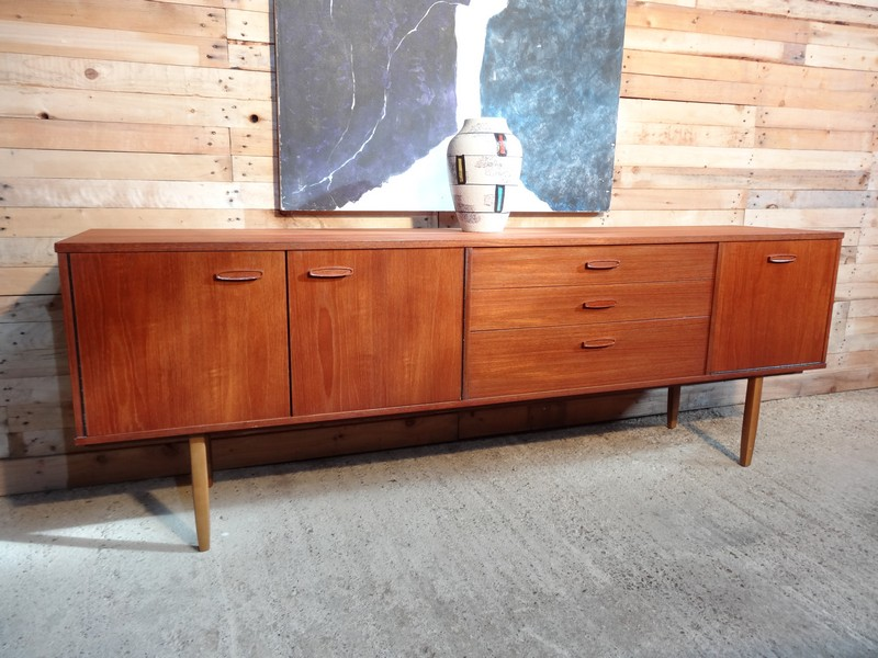 **SOLD**Large teak sideboard (102)