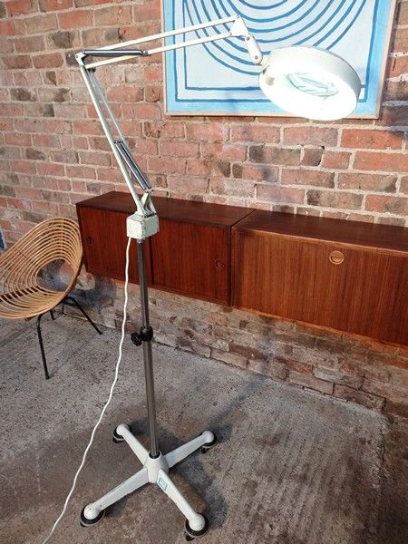 **SOLD**1960's floor standing Angle Poise dentist lamp by Luxo