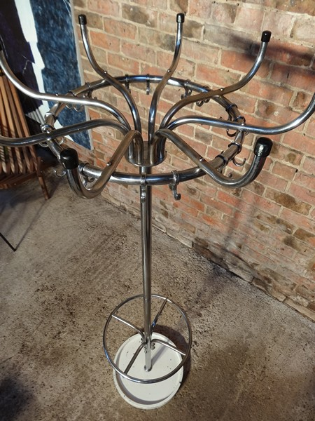 **SOLD**1960's chrome Coat Hanger