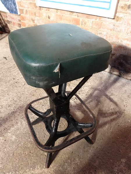 **SOLD**1930's Industrial stool