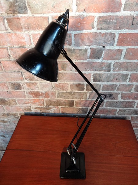 **SOLD**1950's HERBERT TERRY BLACK ANGLEPOISE LAMP