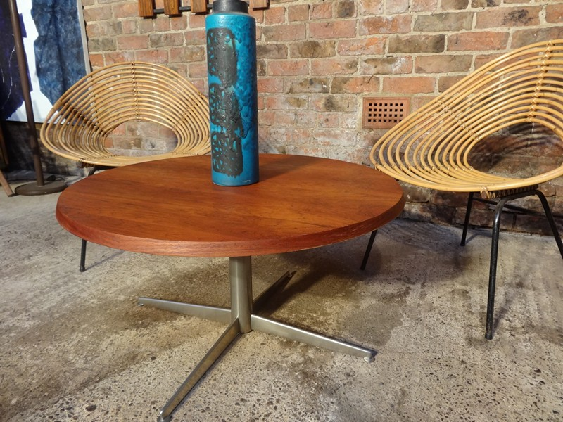 **SOLD**1960's Danish rosewood  coffee table