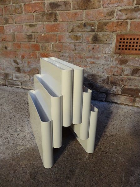 Kartell magazine rack designed by G. Stoppino