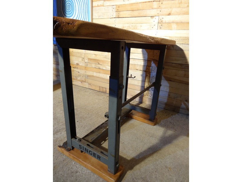 Singer vintage hall table or Desk