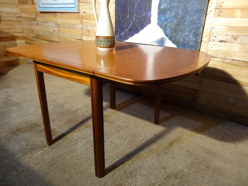 **SOLD**English McIntosh teak dropdown table