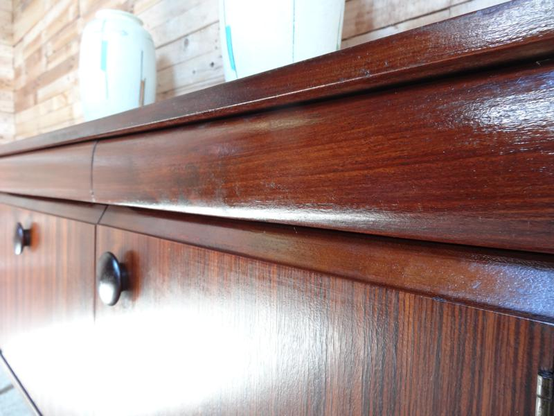 **SOLD**1960 sought after Zebrawood Sideboard (103)