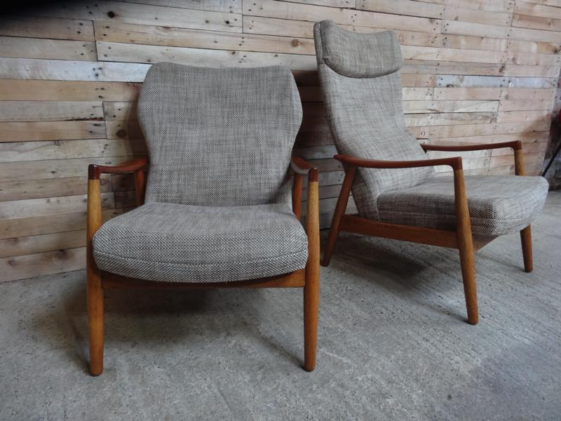 SOLD - Stunning pair of Bovenkamp arm chairs (price on request)