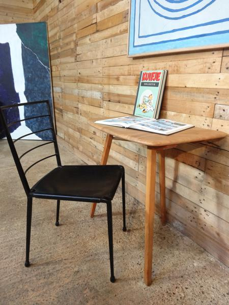 SOLD - Ercol minimalistic desk