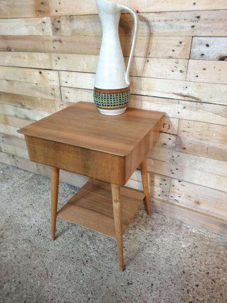 SOLD- Organic Ercol side table