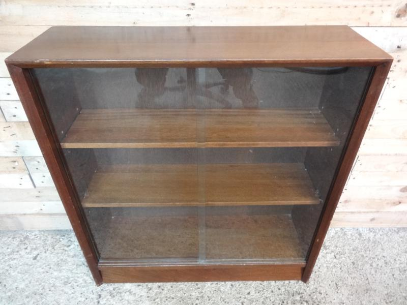 1950's cabinet with glass front