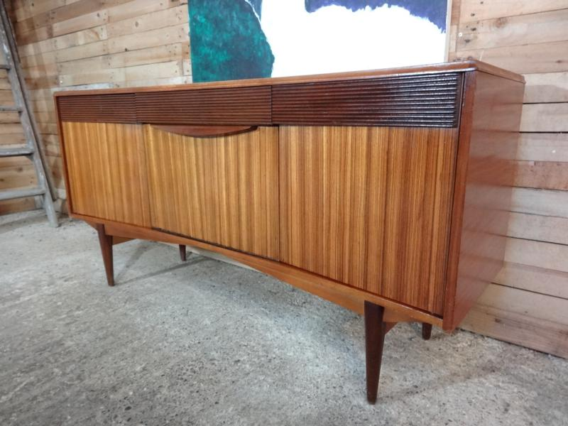 SOLD - 1960 sought after Zebrawood Sideboard (103)