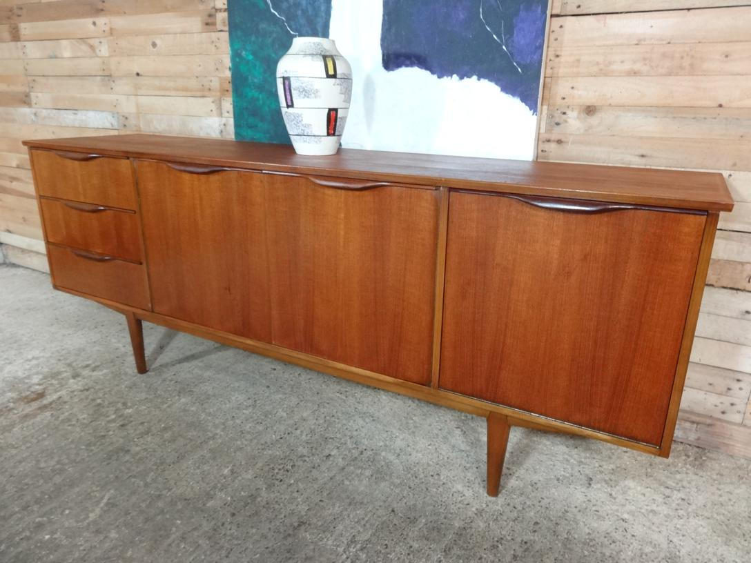 SOLD - Organic retro teak sideboard (105)