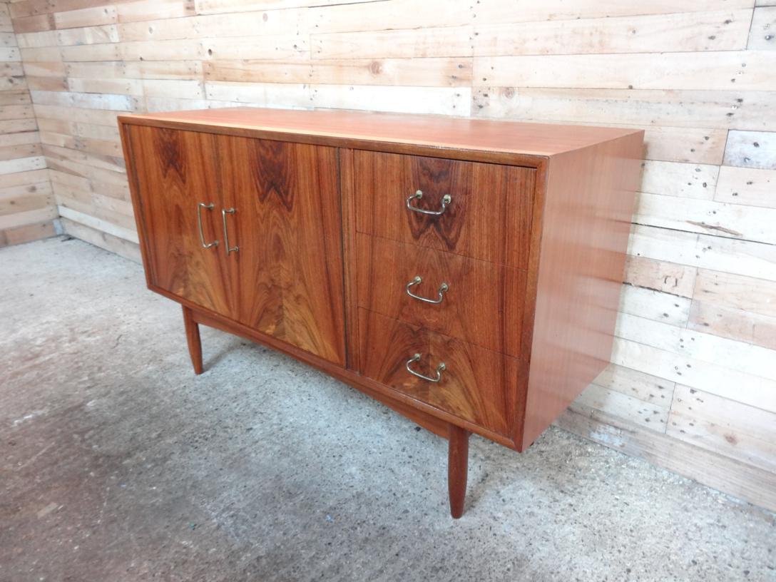 SOLD - small Rosewood  Sideboard (119)