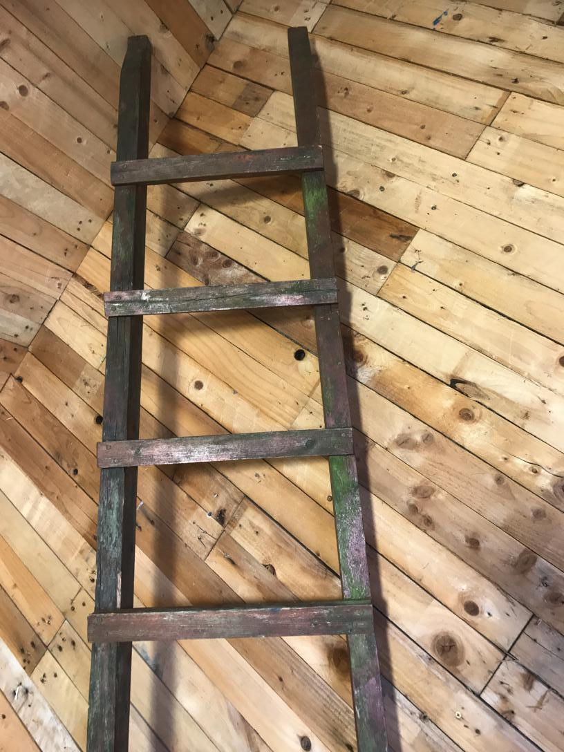 1900's French vintage ladder (Price on request)