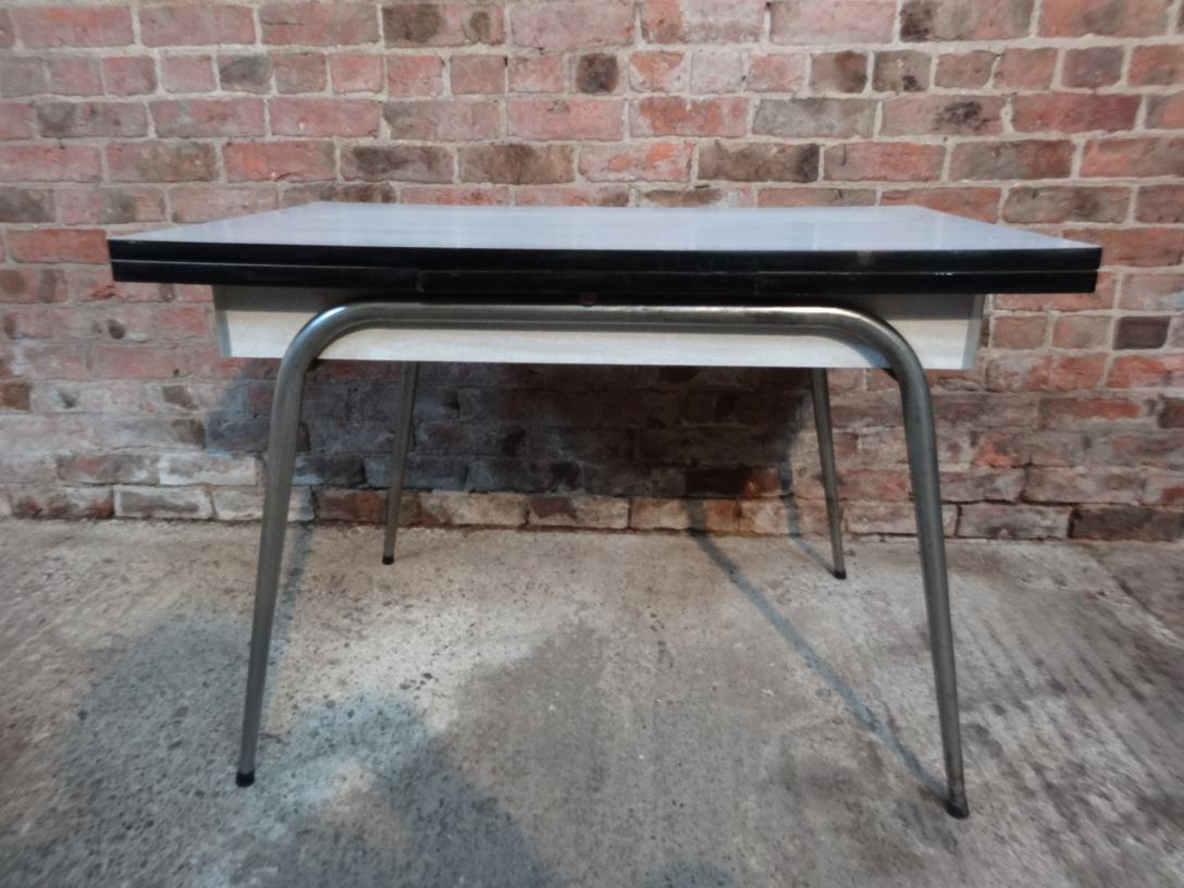 PRICE ON REQUEST - Large extendable 1950's Retro Brabantia Table