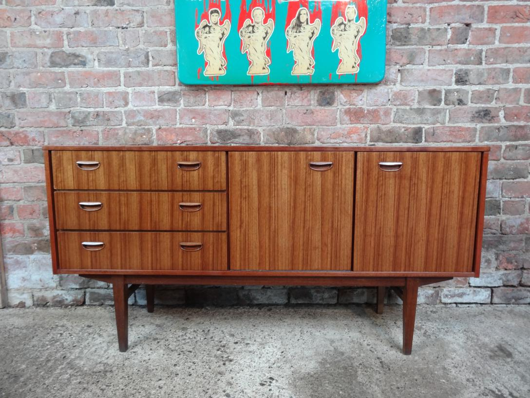 SOLD - 1960 sought after Zebrawood Sideboard (186)