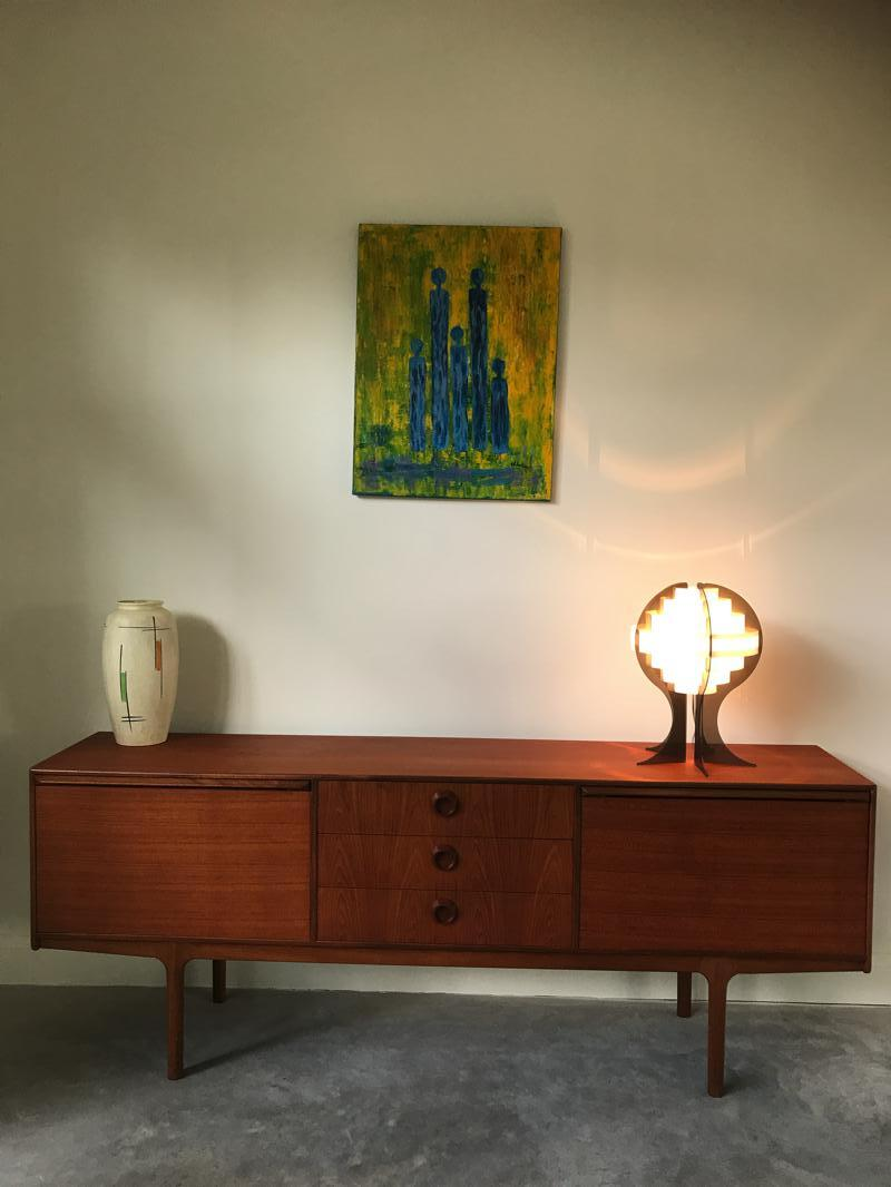 RESERVED - Retro teak sideboard (109)