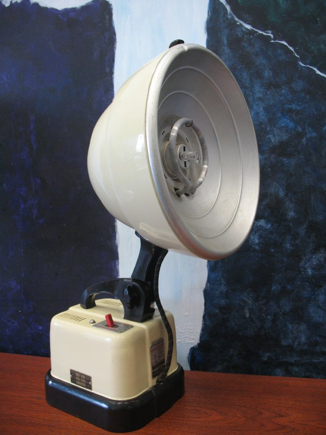 SOLD - Industrial Hanovia lamp