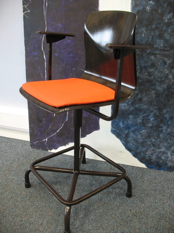 **SOLD**German made Industrial stool