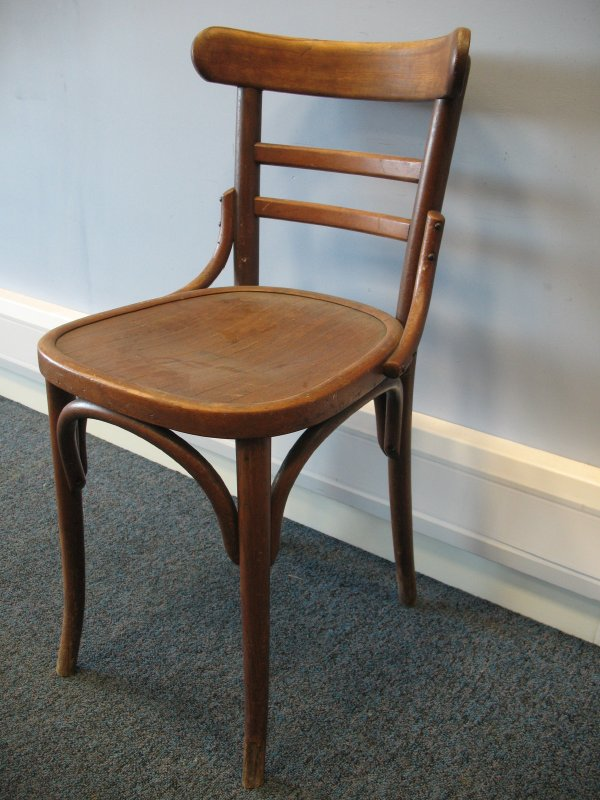 **SOLD**Adolf Loose bentwood chair
