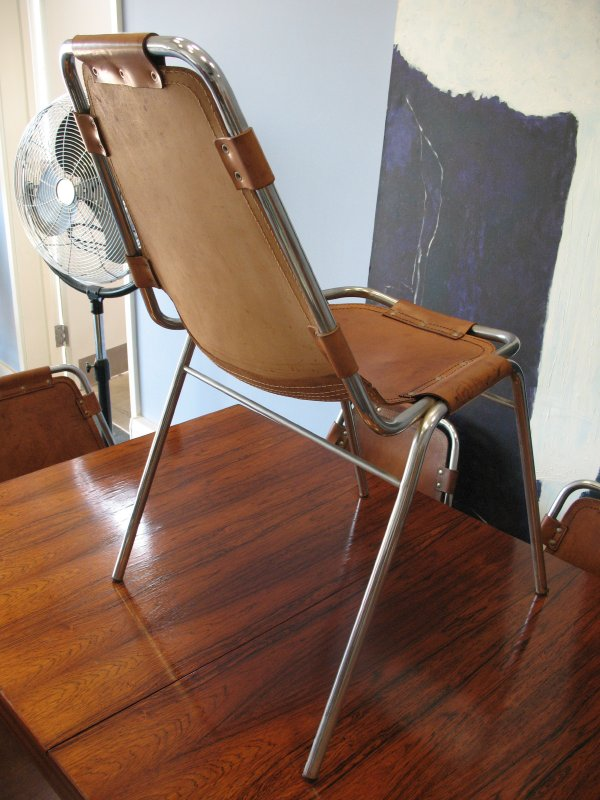 **SOLD**6 Charlotte Perriand Chairs For Les Arcs 1960 (price on request)