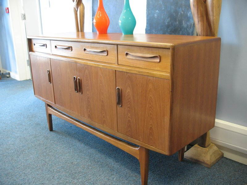 *SOLD*Small Teak Sideboard