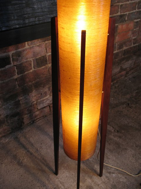 **SOLD**1960's floor standing 'rocket' lamp