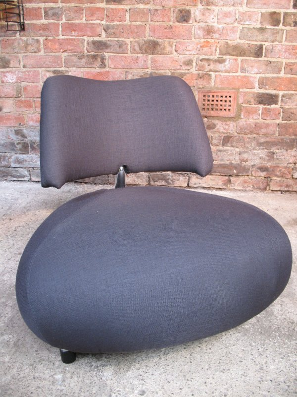**SOLD**Grey fabric Leolux Pallone designer chair