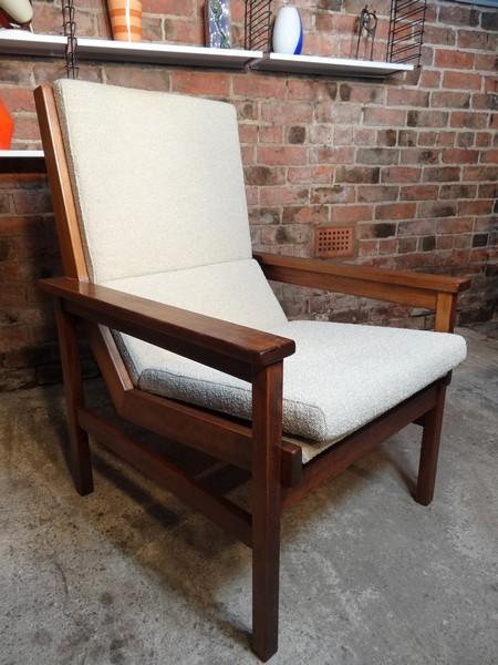 **SOLD**Dutch Robert Parry teak arm chair