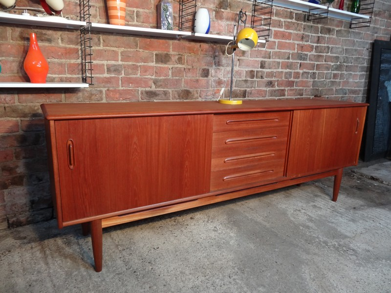 **sold**Large Danish Stroed sideboard