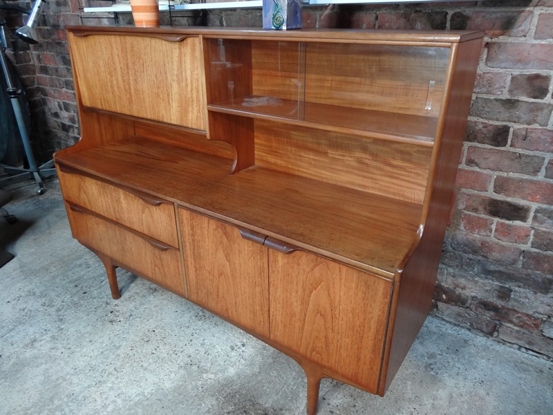 **SOLD**Organic tall Danish teak Sideboard