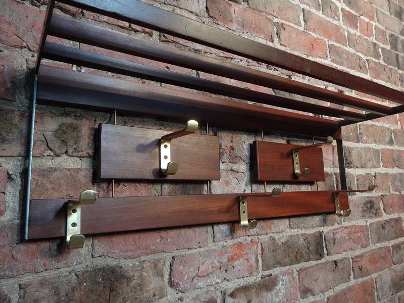 original 1960s coat rack (D25)