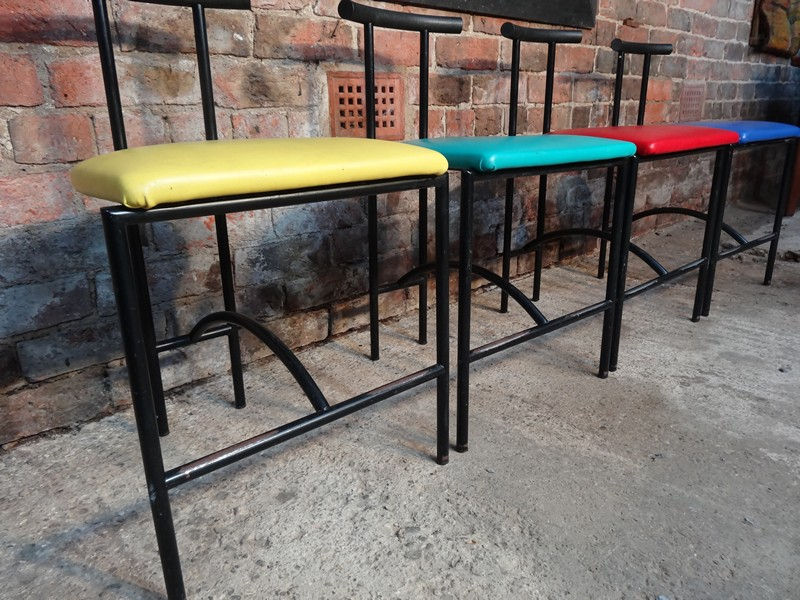 SOLD - 4 x Bieffeplast Tokyo chairs design by Rodney Kinsman (price on request)