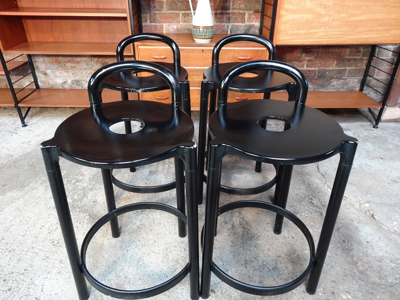 4 Italian Kartell bar  stools (price on request)