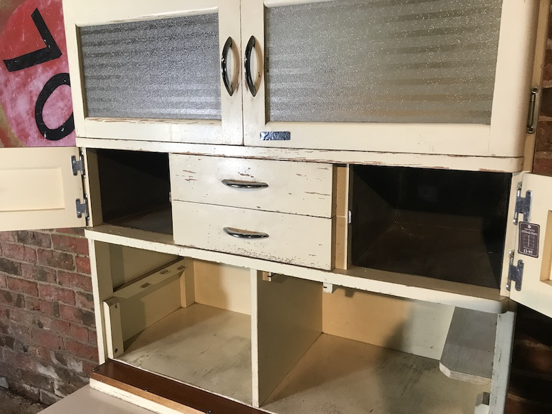 1950's tall kitchen cabinets