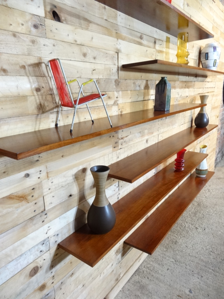 Stunning ''Banz Bord'' floating Rosewood Wall System (price on Request)
