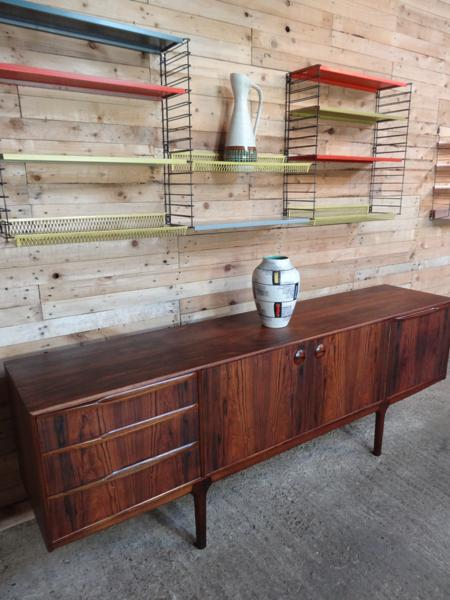 **SOLD**Danish designed organic Rosewood Sideboard (140)